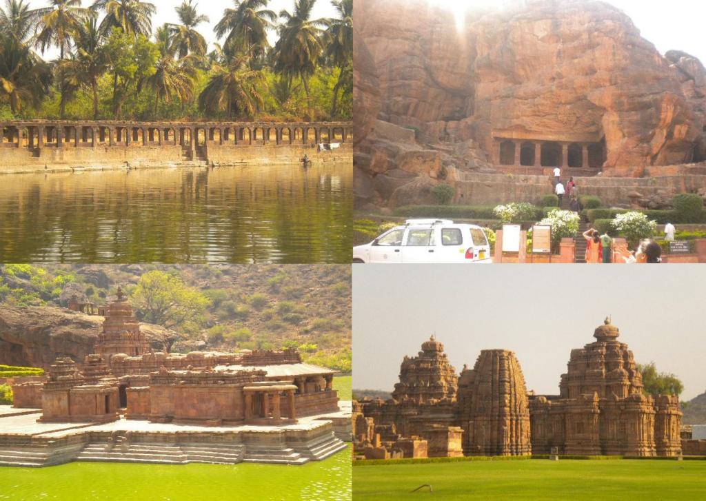 World Heritage Site  Badami  North Karnataka  Chandana Rao