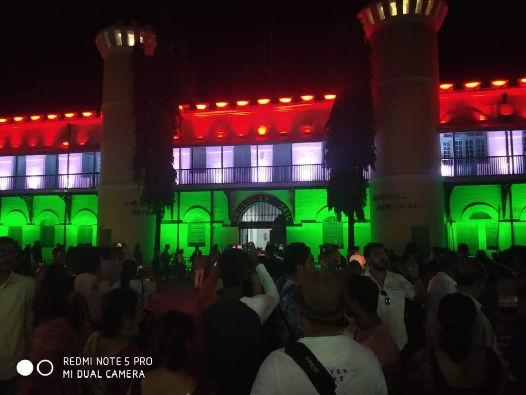Cellular Jail Andaman Sound and Light show Story of Cellular Jail Freedom fighters