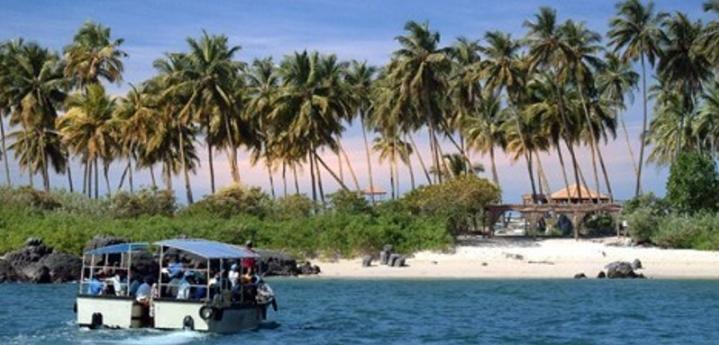 Saint Marris Island Malpe Udupi madagaskar Coconut Island