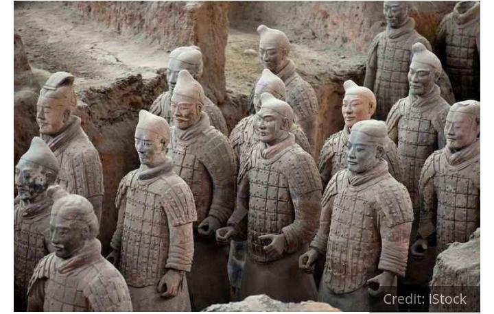 Thomb of qin shi huanga China The Grave of king Qin Shi Huanga Forbidden place of China