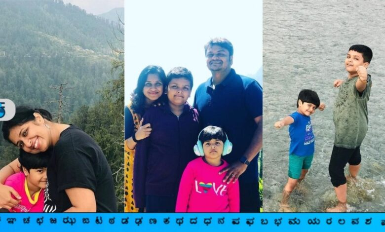 Santhosh Iyer and Family