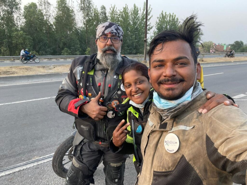 Archana's expedition partners