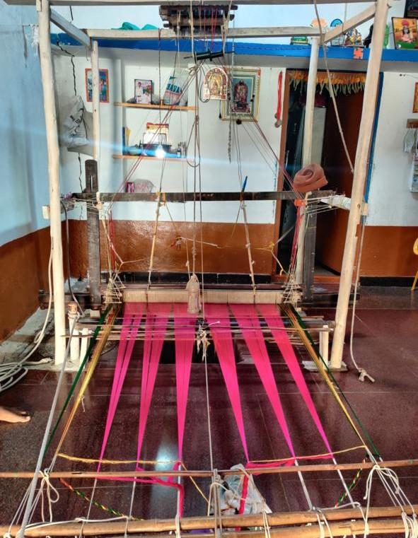 Hand loom Badami Aihole Ilkal Saree